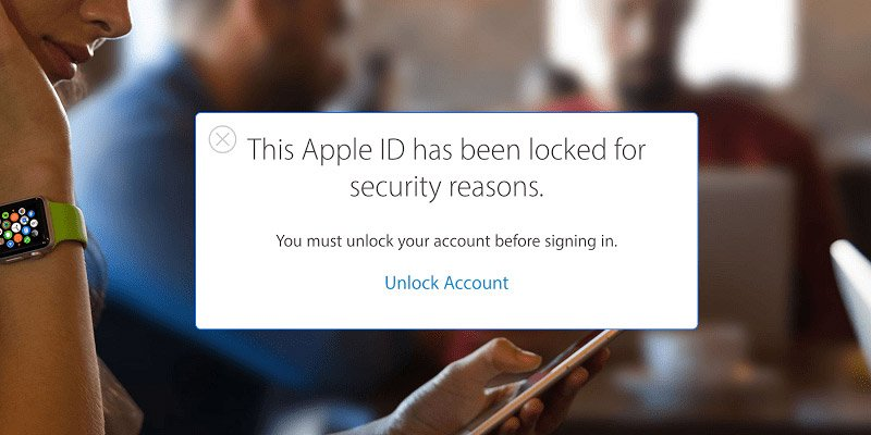 this apple id has been locked
